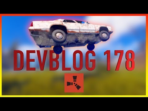 Rust Academy: UPDATE 178 | CARS, MOUNTING CHAIRS, & GAME BREAKING GLITCH (видео)