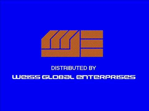 Weiss Global Enterprises colorized logo (1978-84; Homemade)