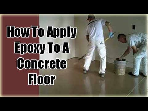 Applying Garage Floor Epoxy Coatings (Part 3)