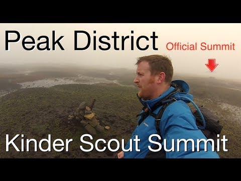 Peak District Walk - Kinder Scout - Jacob's Ladder & The Official Summit