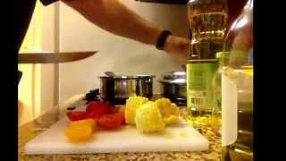 """via YouTube Capture.  Cooking for the Boys Live, new season called """"HOTEL COOKING"""""""
