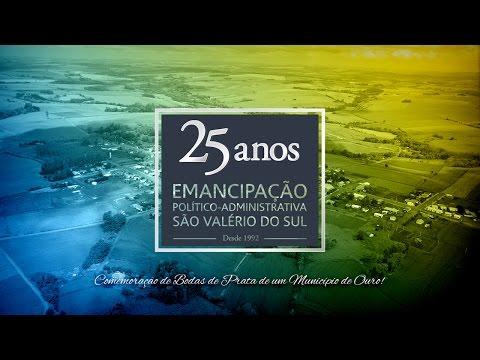 São Valério do Sul 25 Anos - Vídeo Homenagem