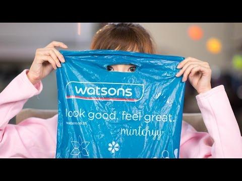 mintchyy   ของถูกและดีใน Watsons ชิ้นละไม่เกิน 300 บาท (видео)