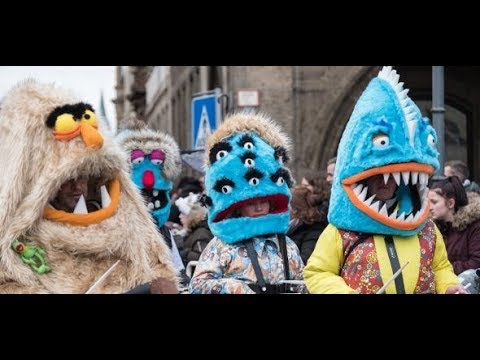 """Karneval: """"Die gehen in die Hauseingänge, am hellicht ..."""