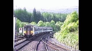 Crianlarich United Kingdom  City pictures : British Rail Vignettes May 1992 #6 Ardlui & Crianlarich to Oban