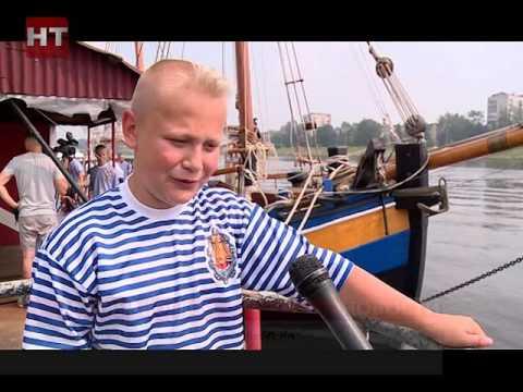 Новгородские юные моряки примут участие в «Большом сборе на Онего» в Петрозаводске