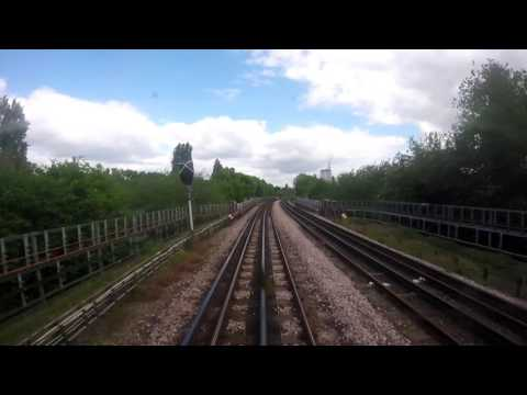 Cab Ride Edgware to Golders Green (видео)