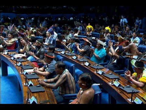 Senado presta homenagem aos povos indígenas do Brasil