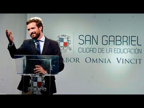 Pablo Casado participa en la VIII edición del curso de verano 'Prensa y Poder'