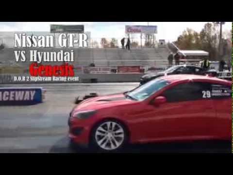 Nissan GT-R vs Hyundai Genesis