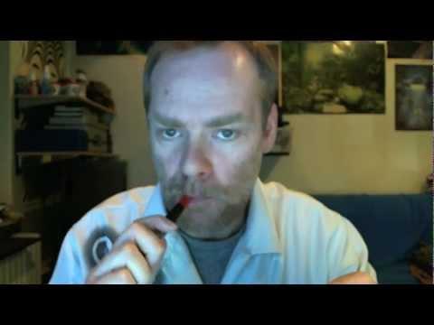 Taschentuch-Test Gegenüberstellung E-Zigarette - Zigarette
