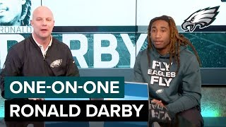 Ronald Darby 'I Love It' In Philadelphia | Eagles One-On-One