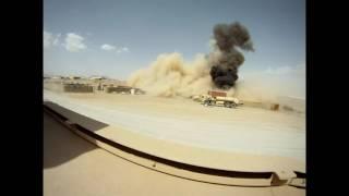 Nagranie z rozbicia się polskiego Mi-24 w Afganistanie z soczystym komentarzem