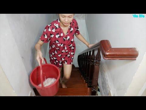 Cùng Lau Dọn Cầu Thang Với Vie Girl