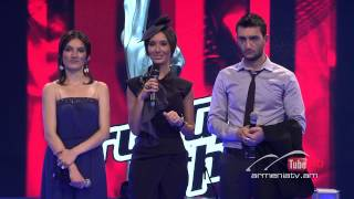 Vahe vs. Veronika,Sorry Seems To Be The Hardest Word - The Voice of Armenia - The Battles – Season 3