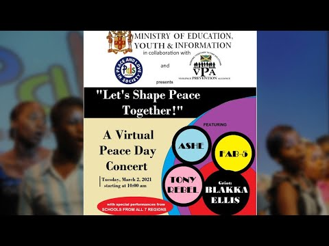 "Virtual Peace Day Concert 2021, ""Let's Shape Peace Together !""​"