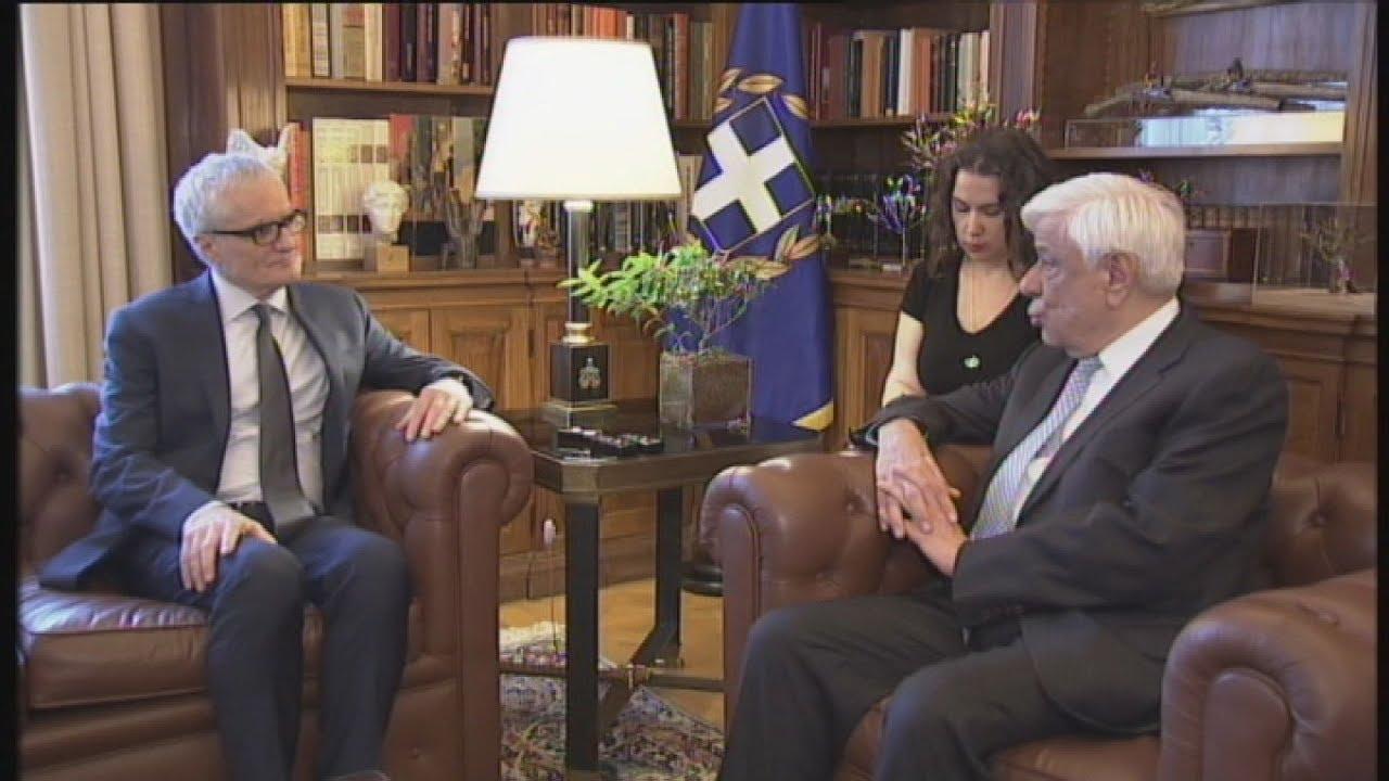 Συνάντηση του Π.Παυλόπουλου με τον πρόεδρο  της κοιν/κής συνέλευσης του συμβουλίου της Ευρώπης