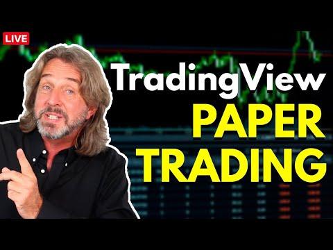 TradingView Paper Trading - A Great Stock Market Simulator