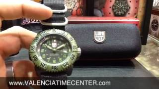 Luminox 3041 OD Military Series watch review by Valencia Time Center - YouTube