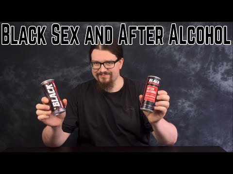 Black Energy Sex and After Alcohol. Polish Energy Drink Reviews
