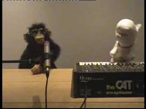Rex the Dog & Punk Monkey sing The Sounds Tony The Beat