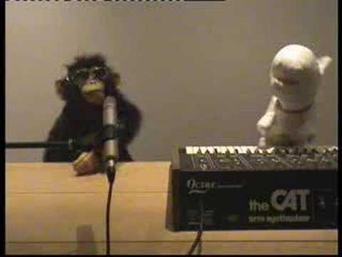 Rex the Dog & Punk Monkey sing The Sounds Tony The Beat