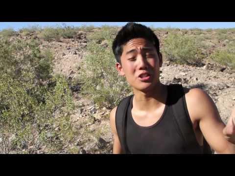 desert - Spoof of one of my favorite shows, Man vs. Wild. Do not try this at home, it's incredibly dangerous! :) Twitter: http://www.twitter.com/TheRealRyanHiga Myspa...