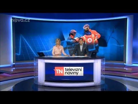 Zprávy TV Nova 12.7. 2017 Nehoda dvou dívek u Obrnic