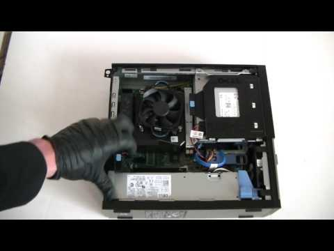 Dell Optiplex 3020 Upgrade RAM, Video Card, Hard Drive Install Change Replace