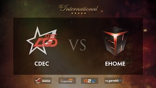 EHOME vs CDEC, game 1