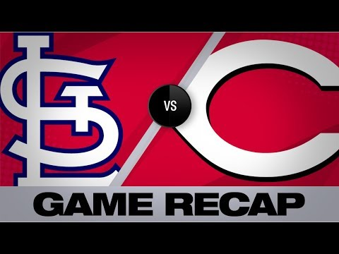 Video: Gray, Reds 2-hit Cards in 2-1 win | Cardinals-Reds Game Highlights 8/15/19