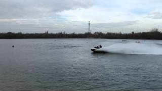 7. Seadoo Wake Pro 215 Top speed and handling test