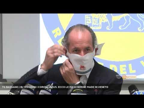 TG BASSANO | 18/03/2020 | CORONAVIRUS: ECCO LE MASCHERINE MADE IN VENETO