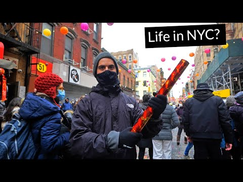 Is Chinatown Doomed? Chinese New Year 2021 in NYC! (w/@ActionKid) видео