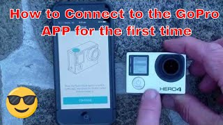 Video GoPro HERO4 - How to Connect to the GoPro APP for the First Time. MP3, 3GP, MP4, WEBM, AVI, FLV Februari 2019