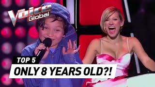 Video 8-Year-Olds that SHOCKED coaches in The Voice Kids MP3, 3GP, MP4, WEBM, AVI, FLV Mei 2019