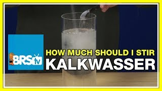 FAQ #31: If stirring kalkwasser has negative effects, why are reactors available that do just that?