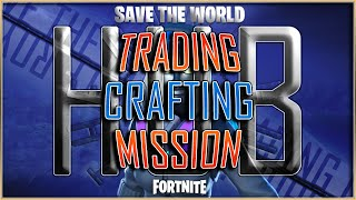 Fortnite Game Hub | Save The World Trade Live Stream | Viewer Trading