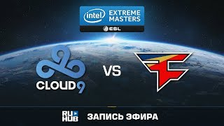 Cloud9 vs FaZe - IEM Oakland 2017 - map1 - de_train [Crystalmay, sleepsomewhile]