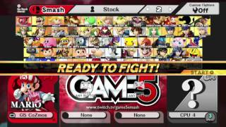 Game5 Smash tournament modpack!