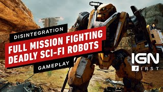 Disintegration: Watch a Full Mission Fighting Deadly Sci-Fi Robots - IGN First by IGN