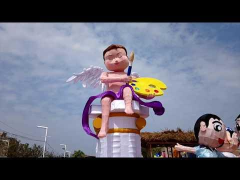 美術科參加2018嘉義台灣燈會