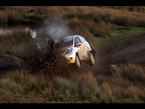 rally - It was painfull to watch these drivers giving their all, unaware of the massive hole that had appeared the other side fo the jump, the sound of laughter come...