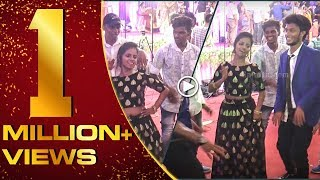 Felina & Mani of #Vijay TV fame Dance at Sandy's reception