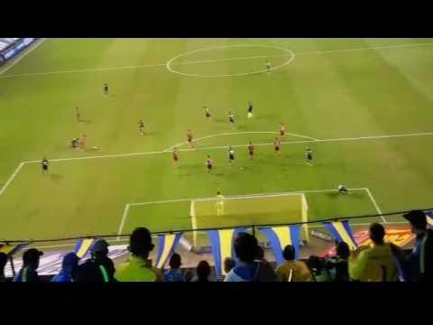 Gol de penal Benedetto Boca vs Independiente 4/06/17 - La 12 - Boca Juniors
