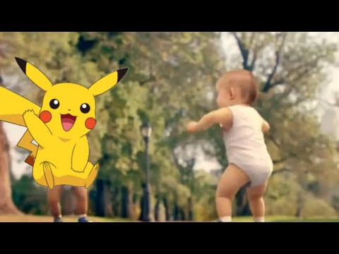 Video Anak Bayi - Baby Dance Goyang Pokemon Pikachu Lucu download in MP3, 3GP, MP4, WEBM, AVI, FLV February 2017
