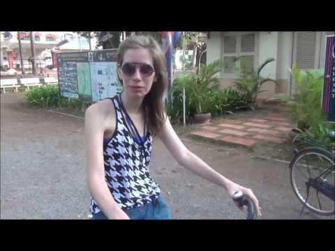 Bicycle Ride in Siem Reap, Cambodia