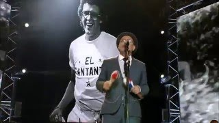 Rubén Blades con Roberto Delgado & Orquesta en vivo El Cantante.
