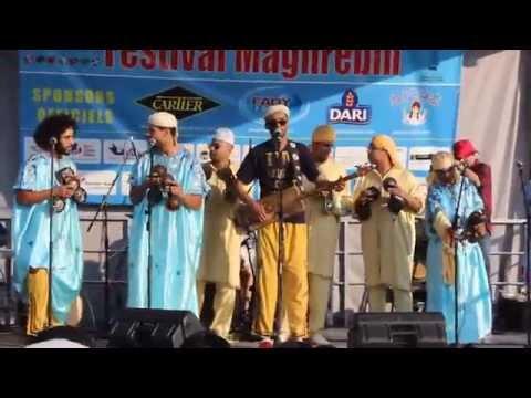 Salamate Gnawa au Festival Maghrebin de Laval Qc