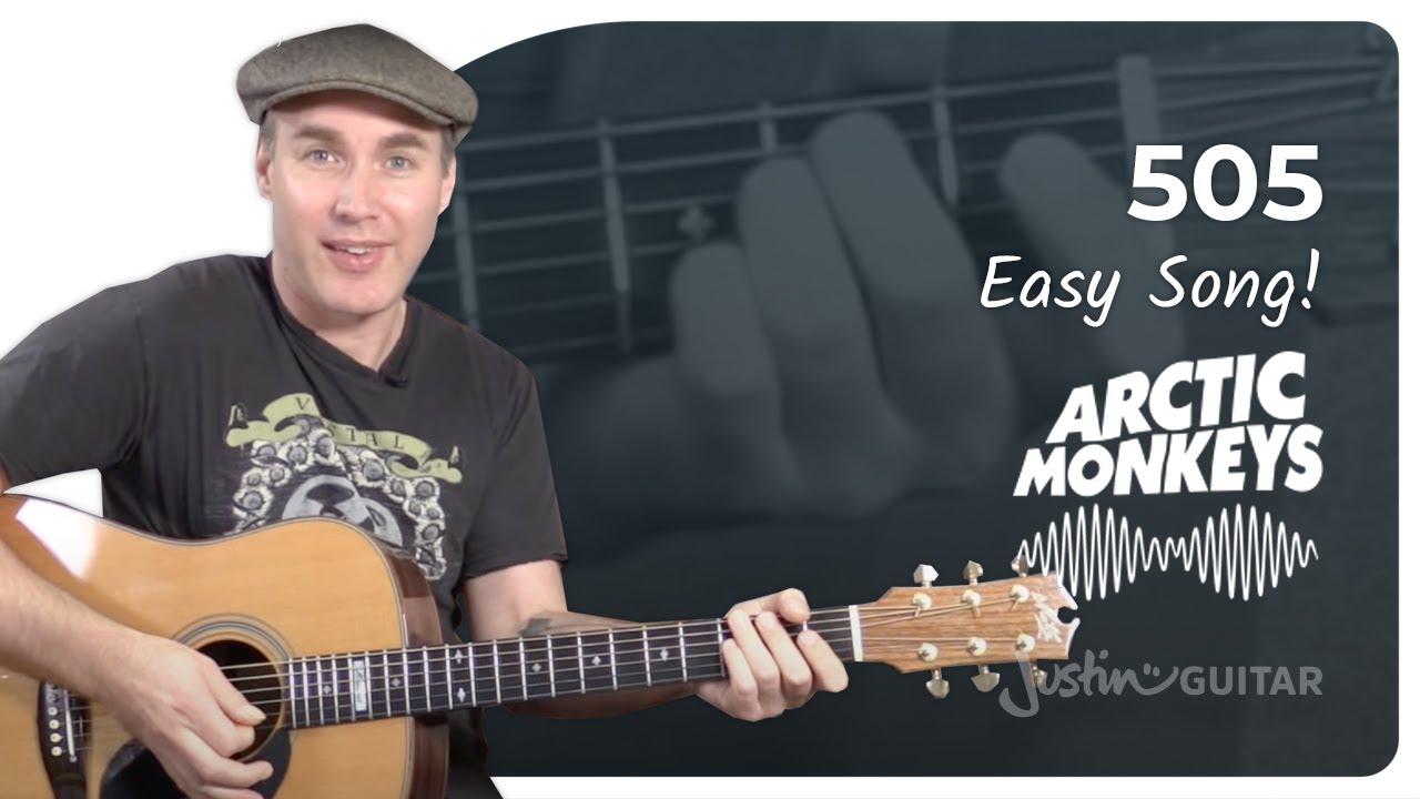 505 – Arctic Monkeys – Beginner Song Guitar Lesson Tutorial (BS-220)